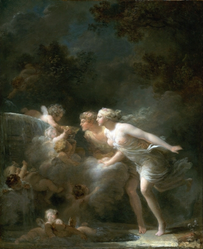 Fragonard - The fountain of love