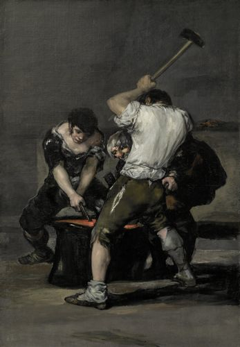 Francisco Goya - The Forge