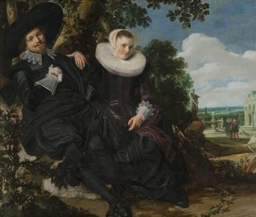 Frans Hals - Wedding portrait