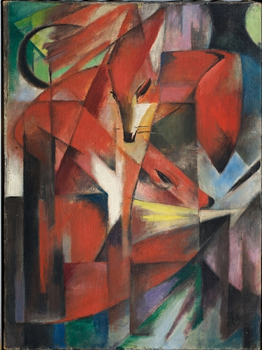 Franz Marc - The Foxes