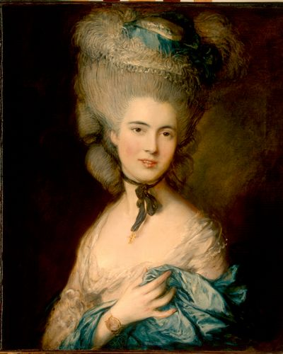 Gainsborough - A woman in blue