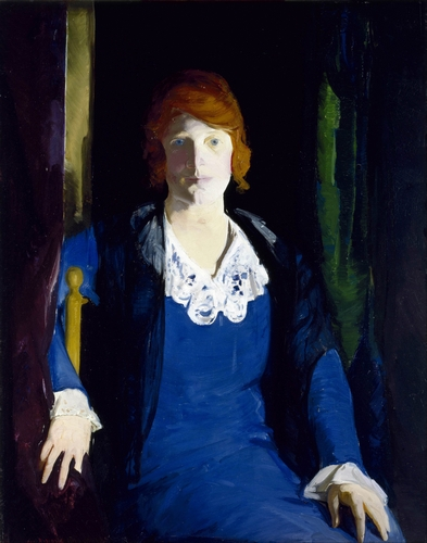 George Bellows - Portrait of Florence Pierce