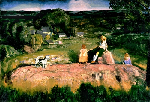 George Bellows - Three Children