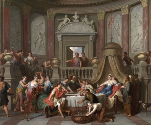 Gerard Hoet - The banquet of Cleopatra