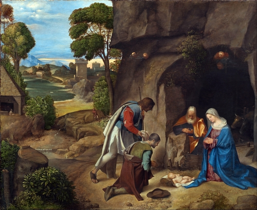 Giorgione - The Adoration of the Shepherds