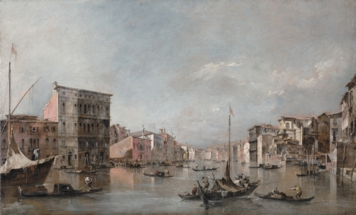 Guardi - The Grand Canal in Venice