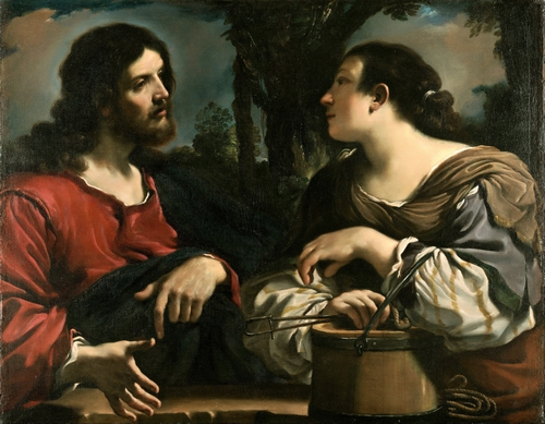 Guercino - Christ and the Samaritan Woman