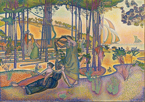 Henri-Edmond Cross -The Evening Air