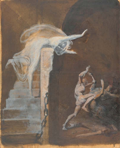Henry Fuseli - Ariadne, Theseus and the Minotaur