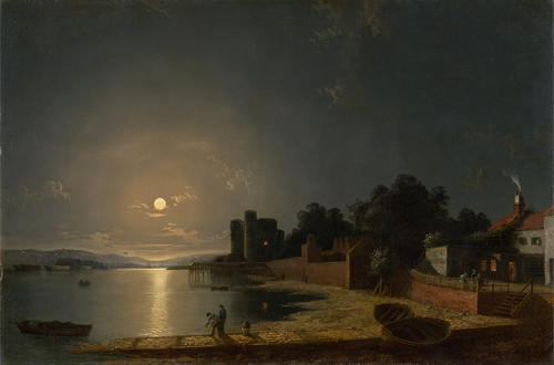 Henry Pether - Upnor Castle in Kent