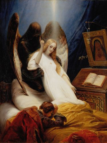 Horace Vernet - Angel of Death