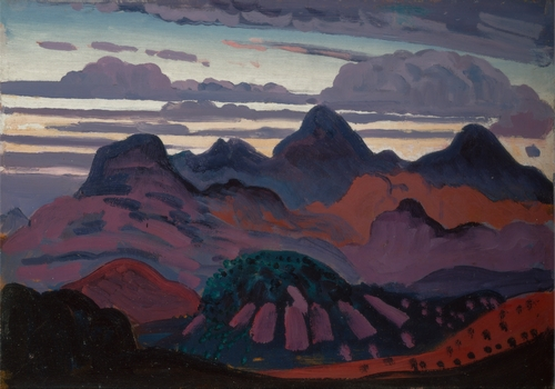 Innes - Deep Twilight in the Pyrenees