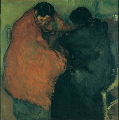 Isidre Nonell - Two gypsy women