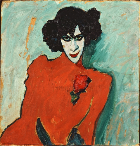 Jawlensky - Portrait of a Dancer