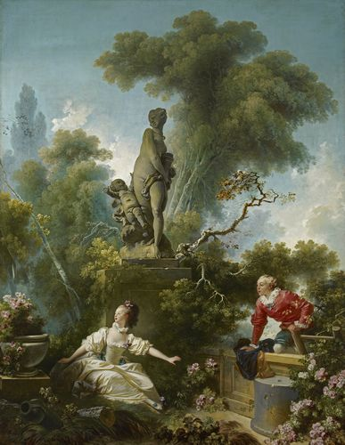 Jean Honore Fragonard - The Progress of Love, The Meeting