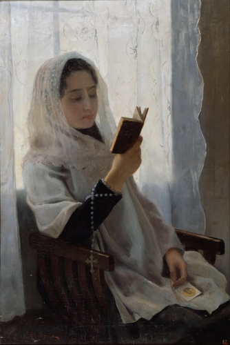 Joan Llimona - Reading