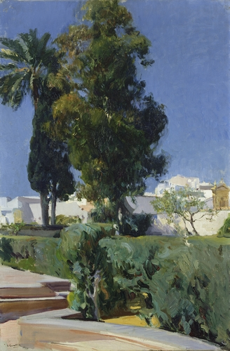Joaquin Sorolla - Corner of the garden, Seville