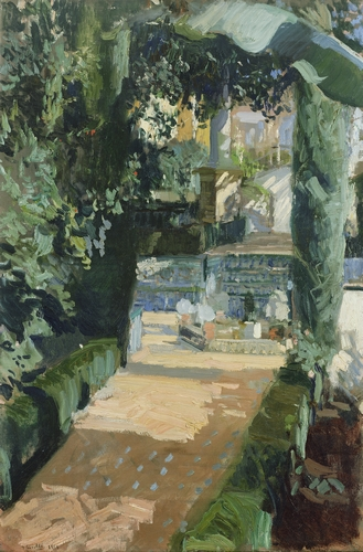 Joaquin Sorolla - Court of the dances, Seville