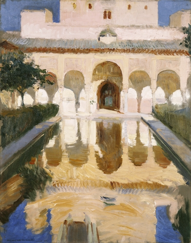 Joaquin Sorolla - Hall of the ambassors, Grenada