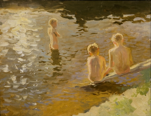 Johann Walters - Boys Bathing