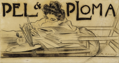 Ramon Casas - Pell and Ploma