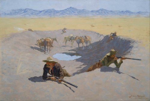 Remington - Fight for the Waterhole