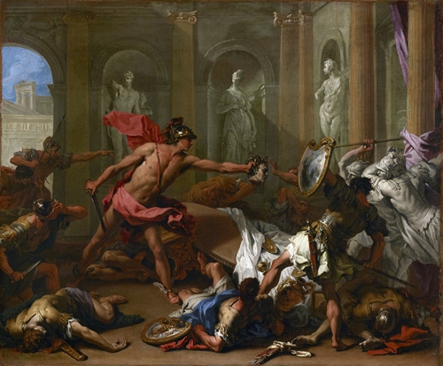 Ricci - Perseus Confronting Phineus with the Head of Medusa