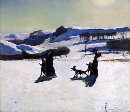 Rockwell Kent - Winter in the Berkshires