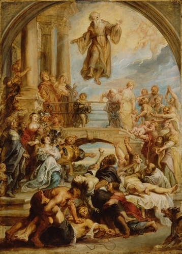 Rubens - The Miracles of Saint Francis of Paola