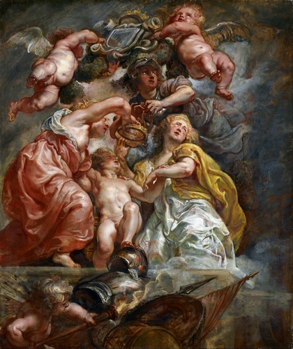 Rubens - The Union of England and Scotland
