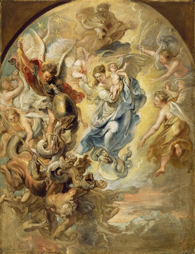 Rubens - The Virgin as the Woman of the Apocalypse