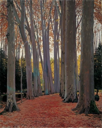 Santiago Rusinol - Avenue of the trees