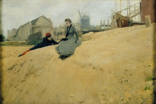Santiago Rusinol - On campaign