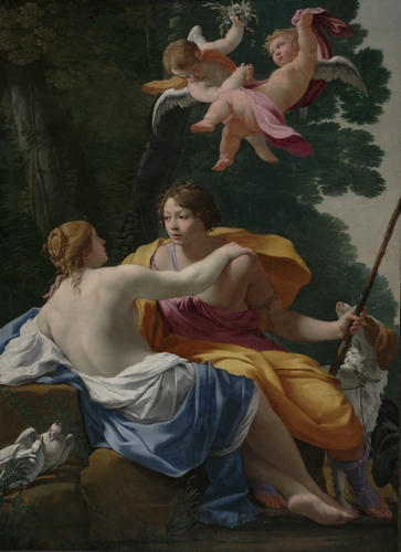 Simon Vouet - Venus and Adonis