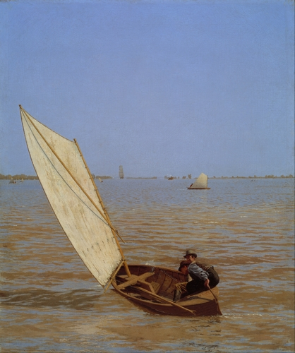 Thomas Eakins - Starting Out After Rail