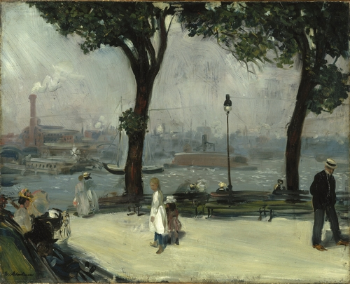 William Glackens - East River Park