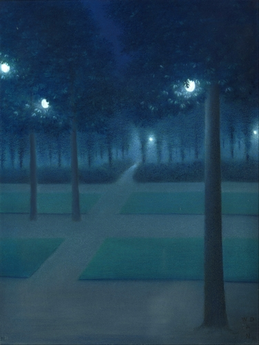 de Nuncques - Nocturne in the Parc Royal