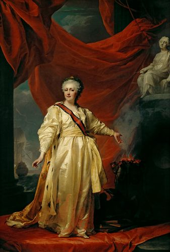 Dmitry Levitsky - Portrait of Catherine II