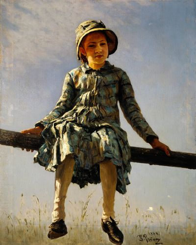 Ilya Repin - Artists daughter