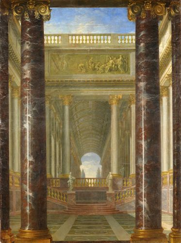 Jacques Rousseau - Perspective of gardens