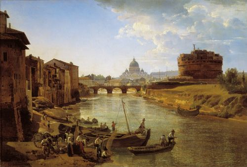 Silvestr Shchedrin - New Rome, The Castle of Saint Angelo