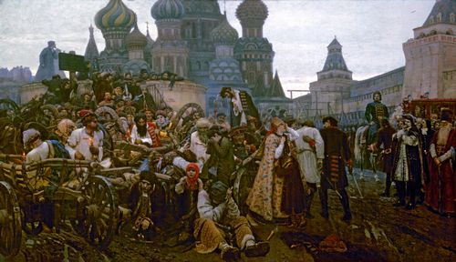 Vasily Surikov - Morning of the Execution of the Streltsy