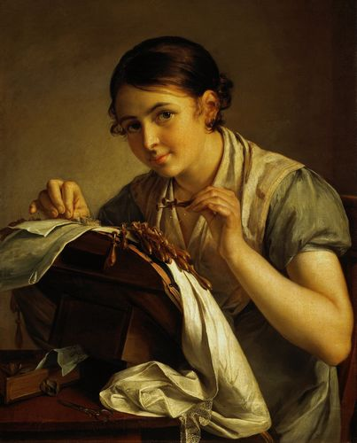 Vasily Tropinin - The Lace Maker