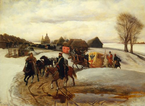Vyacheslav Schvarts - The Spring Pilgrimage of the Tsarina