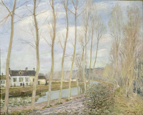 Sisley - The Loing Canal