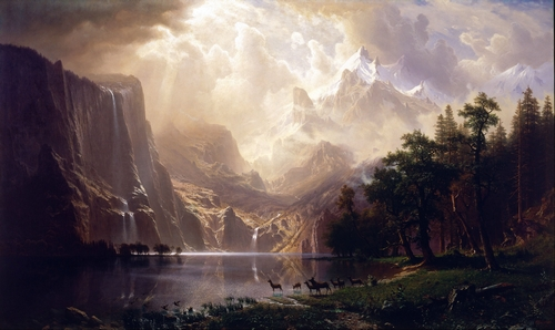 Bierstadt - Among the Sierra Nevada