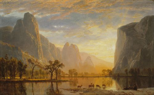 Bierstadt - Valley of Yosemite