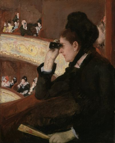 Cassatt - In the Loge