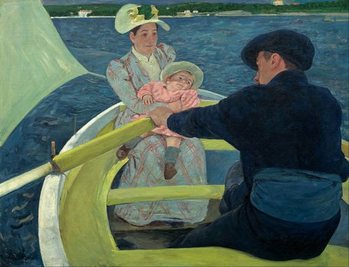 Cassatt - The Boating Party