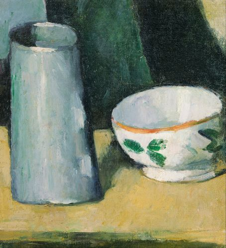 Cezanne - Bowl and Milk Jug